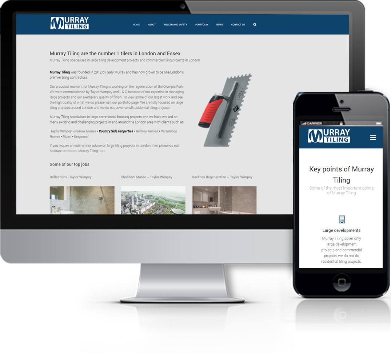 Murray Tiling Website