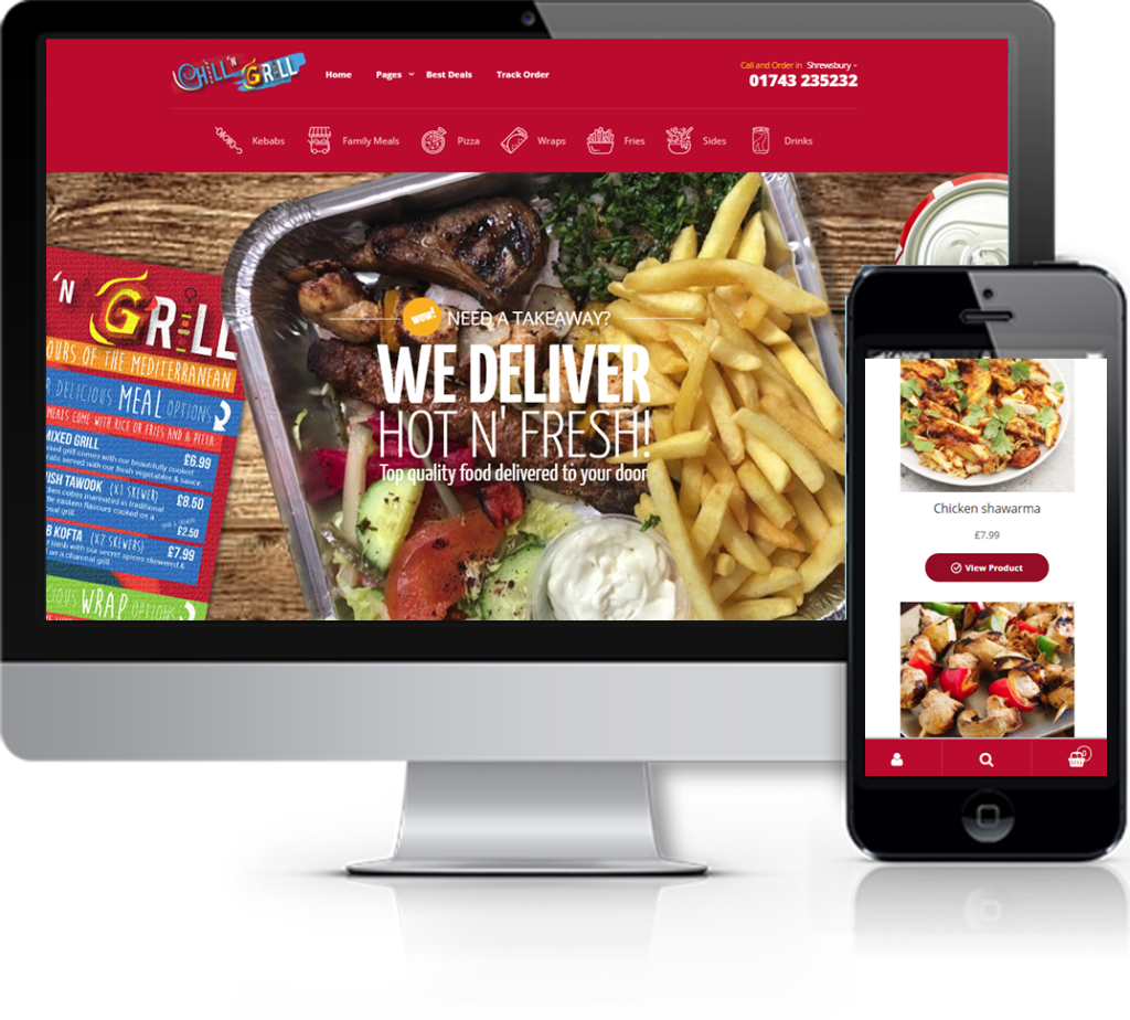 Chill n Grill Website
